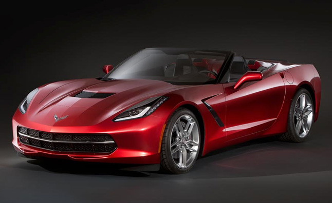 2014 Corvette Convertible Leaked