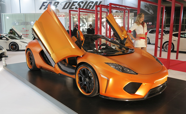 Luxury and Exotic Cars of the 2013 Tokyo Auto Salon: Mega Gallery