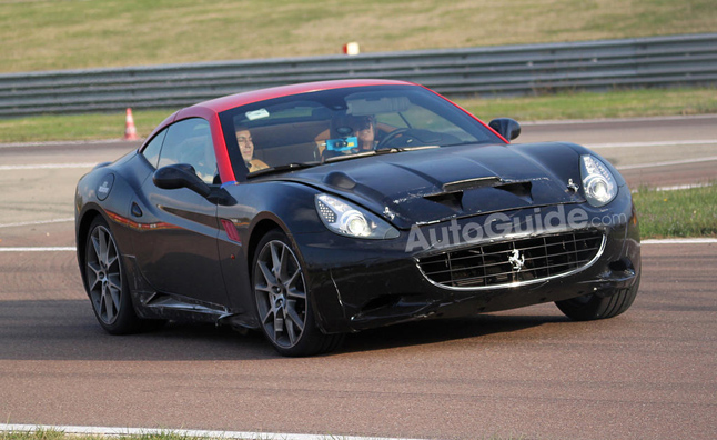 Ferrari California Likely Turbocharged in New Generation