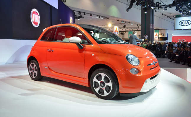2013 Fiat 500e Rated at Best-in-Class 116 MPGe Combined, 87-Mile Range