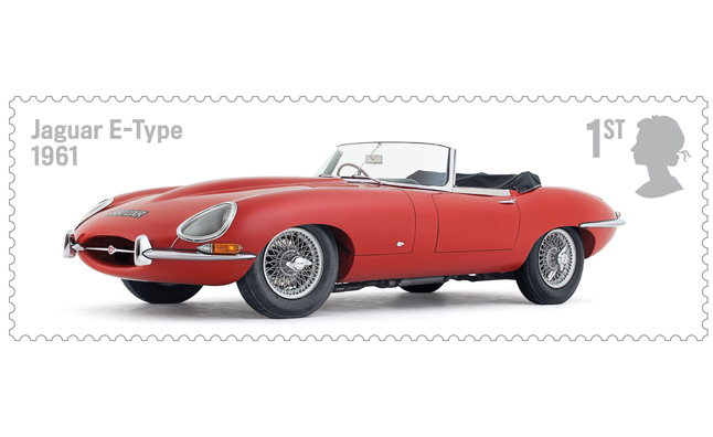 Royal Mail to Feature Jaguar E-Type on 2013 Stamps