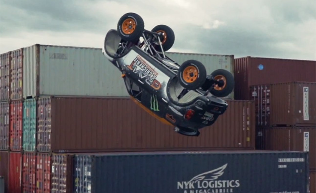 MINI Countryman Attempts First Ever Unassisted Backflip – Video Teaser