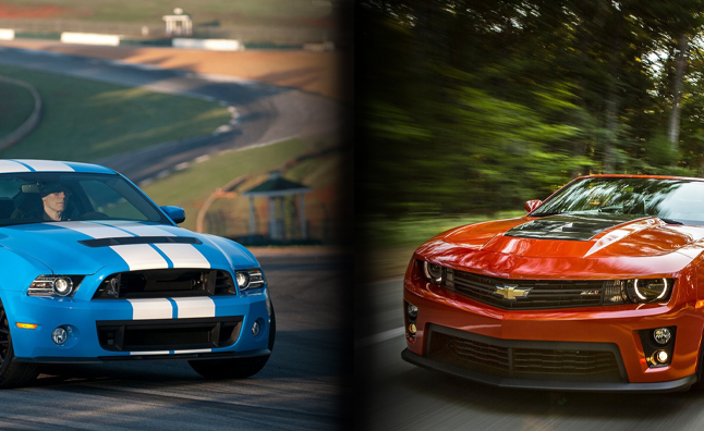 Camaro Outsells Mustang by Tiny Margin in 2012
