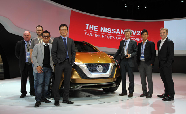 Nissan Resonance Concept Wins Best Concept Vehicle Award