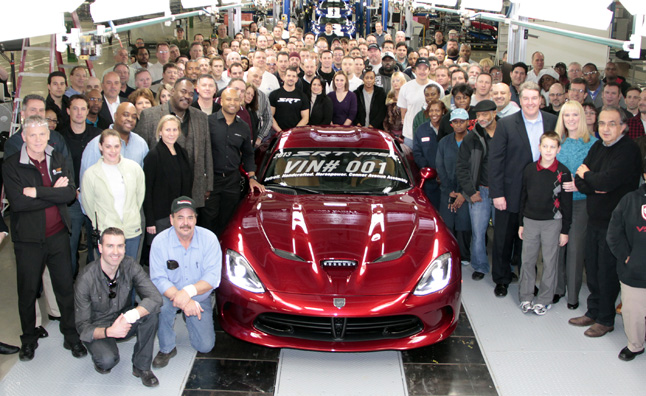 SRT Viper Not Headed to Europe