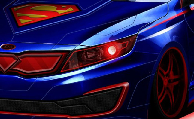 Kia Superman-Themed Optima Hybrid Headed to Chicago