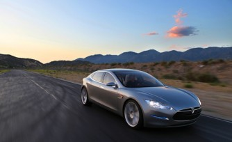 Tesla Model S Sets Quarter Mile Record for Production Electric Vehicle  Video