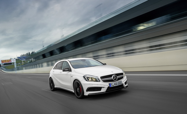 Mercedes A45 AMG Made Official with 360 hp