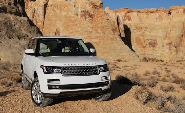 2014 Range Rover Supercharged Base V6 Confirmed