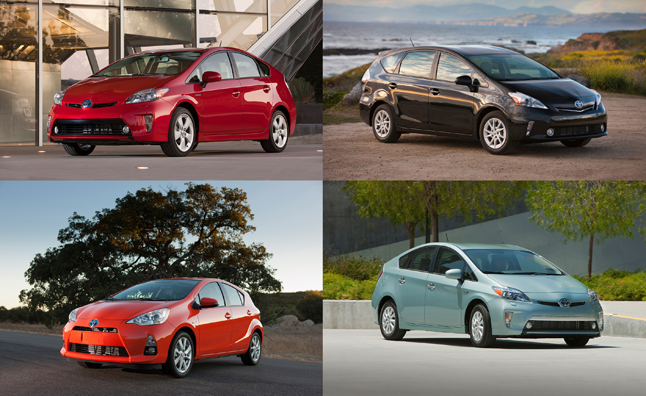 Toyota Prius Family Tops California New Vehicle Registrations