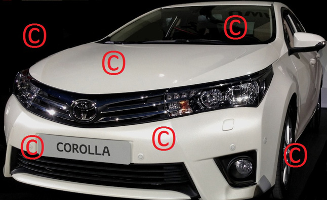 2014 Toyota Corolla Images Leaked Through Forum