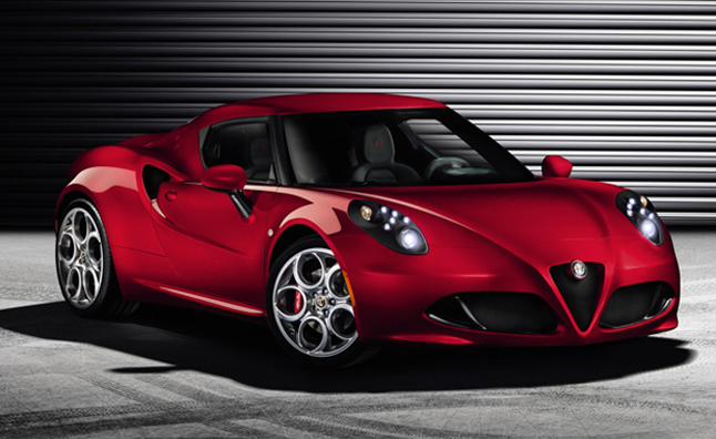 Alfa Romeo 4C Officially Revealed Before Geneva Debut