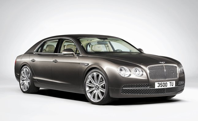 2014 Bentley Flying Spur Officially Revealed With 616-HP