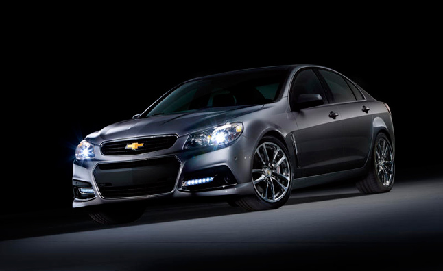 Chevrolet SS Sedan Not Heading to Canada