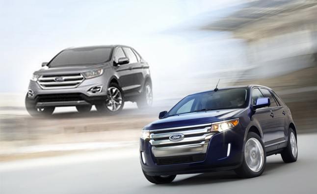 2015 Ford Edge Image Leaked in Corporate Presentation