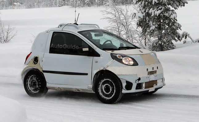 2015 Smart ForTwo Spied Winter Testing