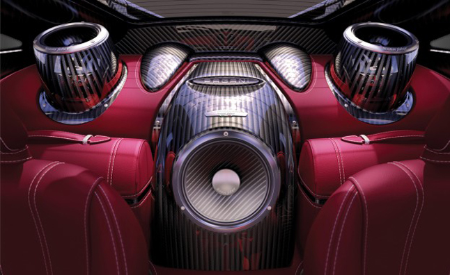 Pagani Huayra Getting 1,200-Watt Sound System
