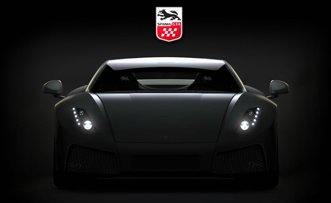Spania GTA Teases New Supercar for 2013 Geneva Motor Show