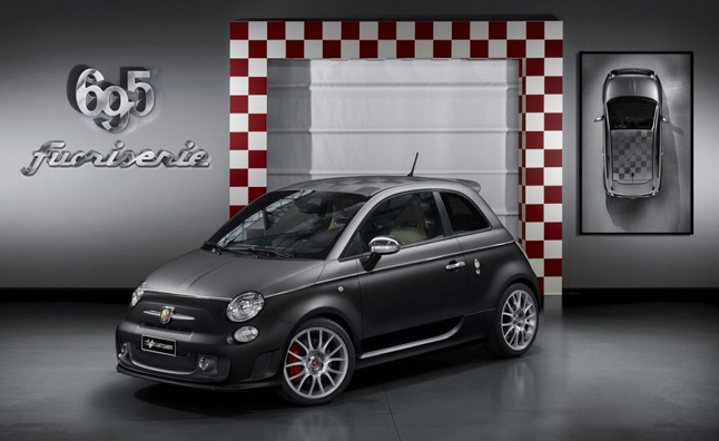 Abarth Bringing Four 'Fuori Serie' Cars to Geneva