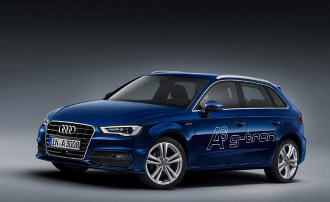 Audi A3 Sportback g-tron is Powered by Compressed Natural Gas