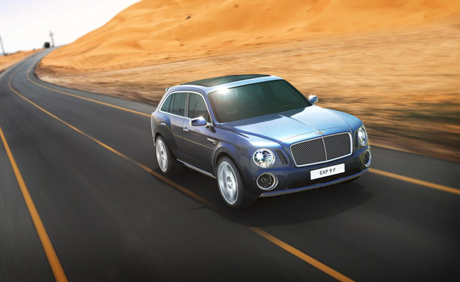 New Bentley Design Chief to Re-Think SUV Concept