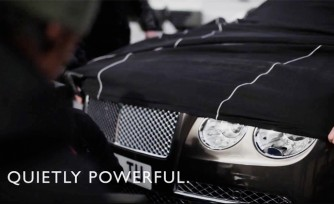 2014 Bentley Flying Spur Teased Again  Video