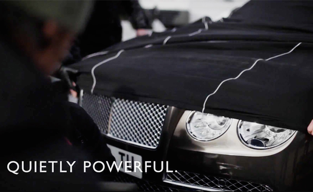2014 Bentley Flying Spur Teased Again – Video