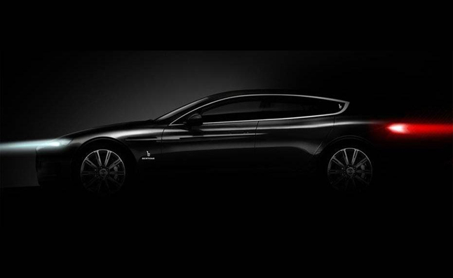 Bertone Teases Four-Door Coupe Concept for 2013 Geneva Motor Show