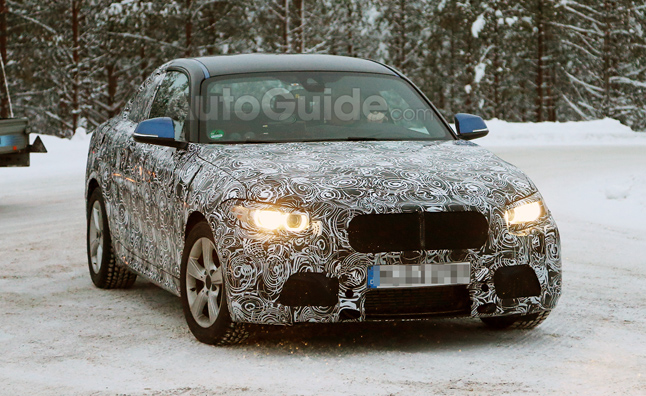 BMW 2-Series Coupe Spotted Cold Weather Testing