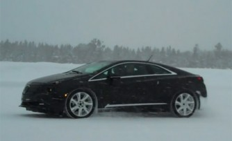 2014 Cadillac ELR Undergoes Winter Chassis Testing  Video