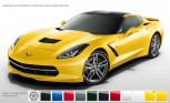 Chevrolet Corvette Stingray Color Configurator Online