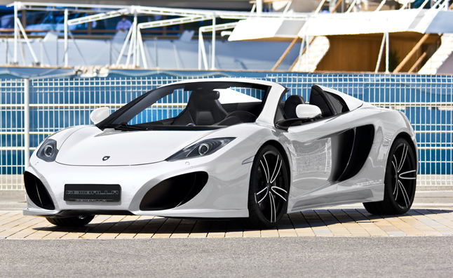 Gemballa-Tuned McLaren MP4-12C Spider Heading to Geneva Motor Show