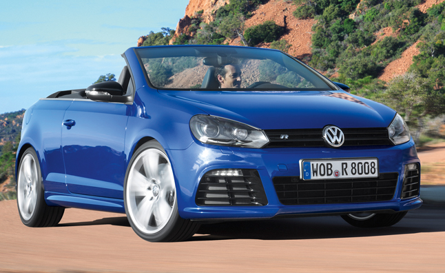 2013 Volkswagen Golf R Cabriolet Announced