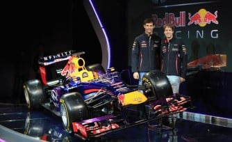 Infiniti Red Bull Racing Unveil 2013 RB9 Race Car  Video