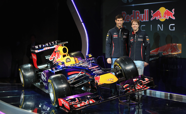 Infiniti Red Bull Racing Unveil 2013 RB9 Race Car – Video