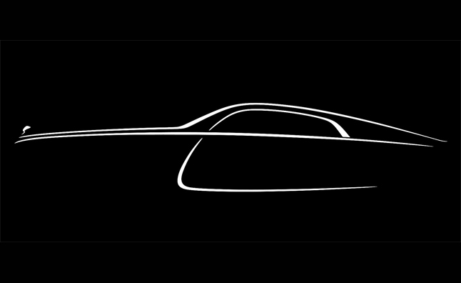 Rolls-Royce Wraith Confirmed as Fastback