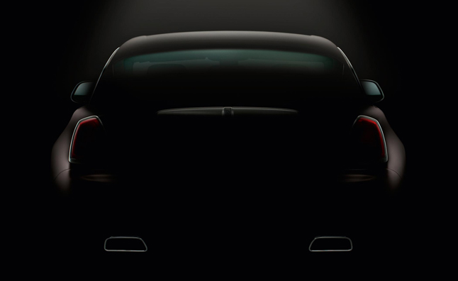 Rolls-Royce Wraith Teased Again Prior to Geneva Motor Show Debut