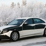 2014 Mercedes S-Class Spied During Winter Testing