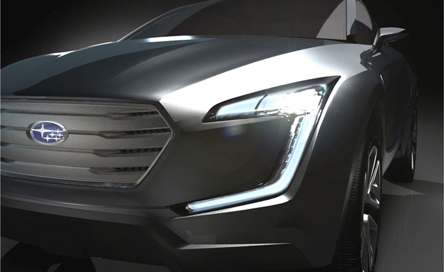 Subaru Viziv Concept Teased Ahead of Geneva Motor Show Debut