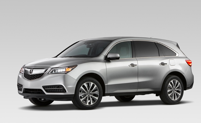 2014 Acura MDX Photo Leaked