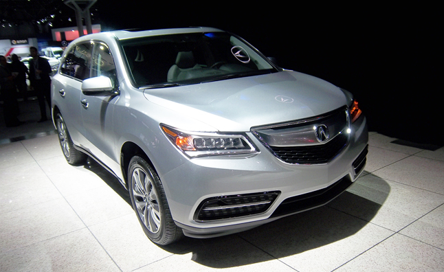 2014 Acura MDX Revealed in Manhattan