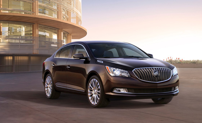 2014 Buick Lacrosse Revealed Before NY Auto Show Debut
