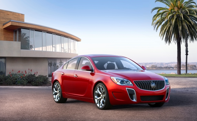 2014 Buick Regal Revealed Before NY Auto Show Debut