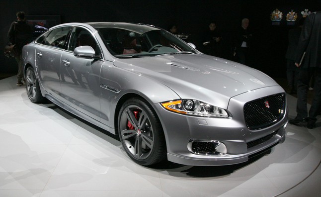 2014 Jaguar XJR Unveiled: 2013 New York Auto Show