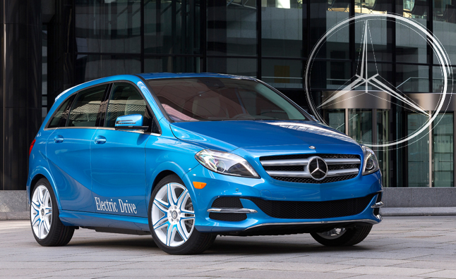 2014 Mercedes B-Class Electric Drive Revealed in NYC
