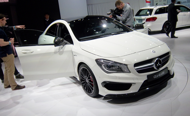 2014 Mercedes CLA 45 AMG Sizzles with 355 HP