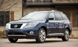 2014 Nissan Pathfinder Hybrid Gets 26 MPG Combined