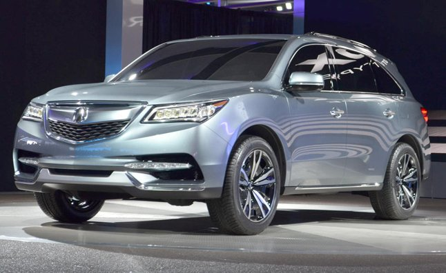 2014 Acura MDX Confirmed for NY Auto Show Debut