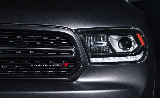 2014 Dodge Durango Headlights Revealed Prior to NY Auto Show Debut