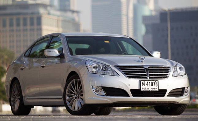 2014 Hyundai Equus Facelift Revealed